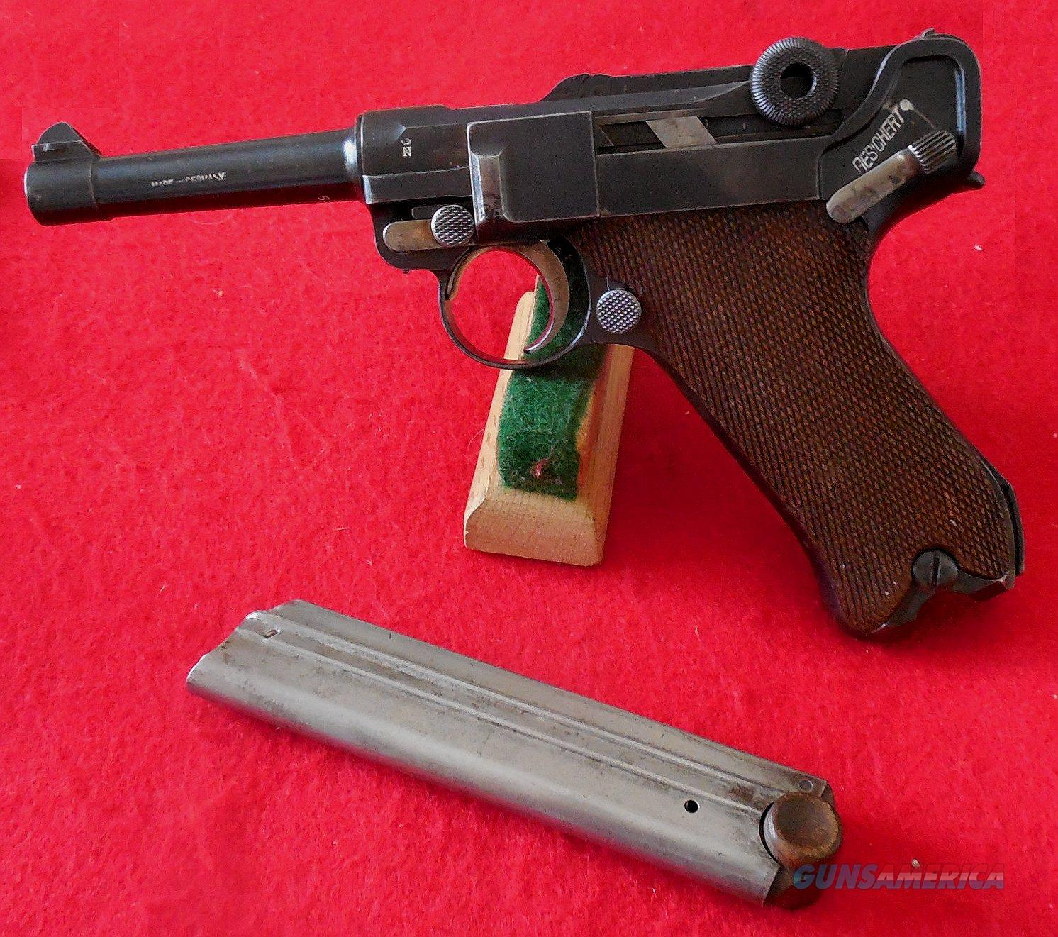 German 1920 Commercial Luger Pistol by DWM