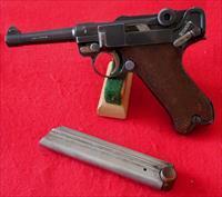 German 1920 Commercial Luger Pistol by DWM