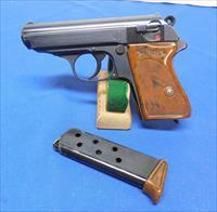 "Walther ""RZM"" PPK Semi Auto Pistol"