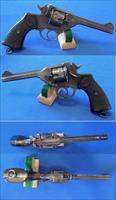 Webley & Scott Mark IV Revolver
