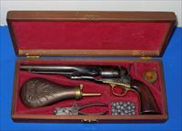 Colt Model 1860 Army Cap & Ball Revolver with Case & Accessories