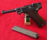 """Scarce DWM """"Safe & Loaded"""" 1923 Commercial Model Luger Pistol"""