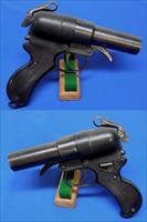 Japanese Naval Type 90 Double Barrel Flare Pistol