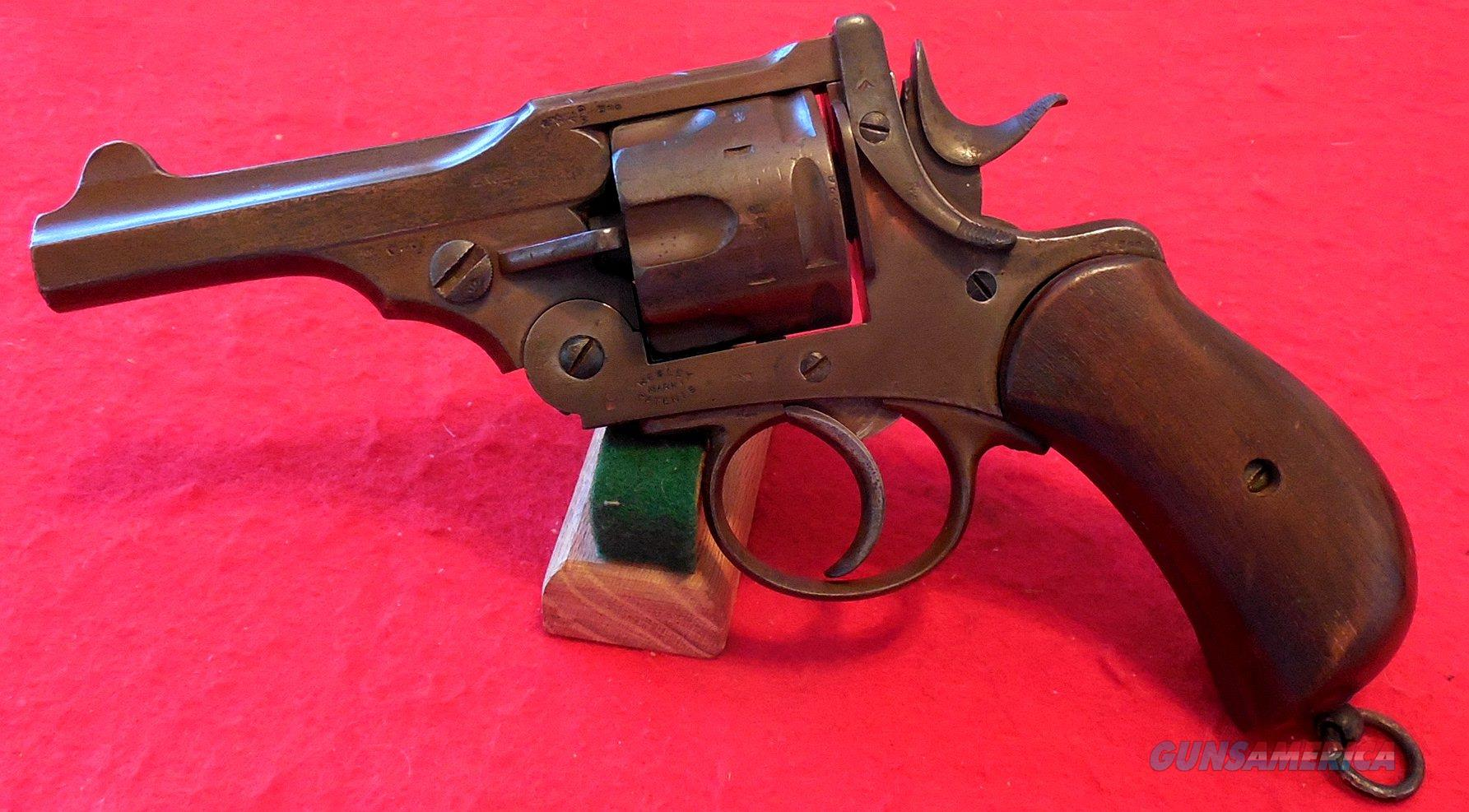 British Webley Mk.I Revolver (Rare Very Early Antique)