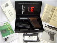 NEW H&K P7M8 9mm with NEW Meprolight Night Sights and NEW Karl Nills Grips with HK Logo