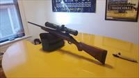 Timney Trigger, Primary Arms Scope,  Ruger American 30-06, Walnut Stock