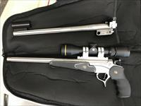 Thompson Center Pro Encore 223 with scope.