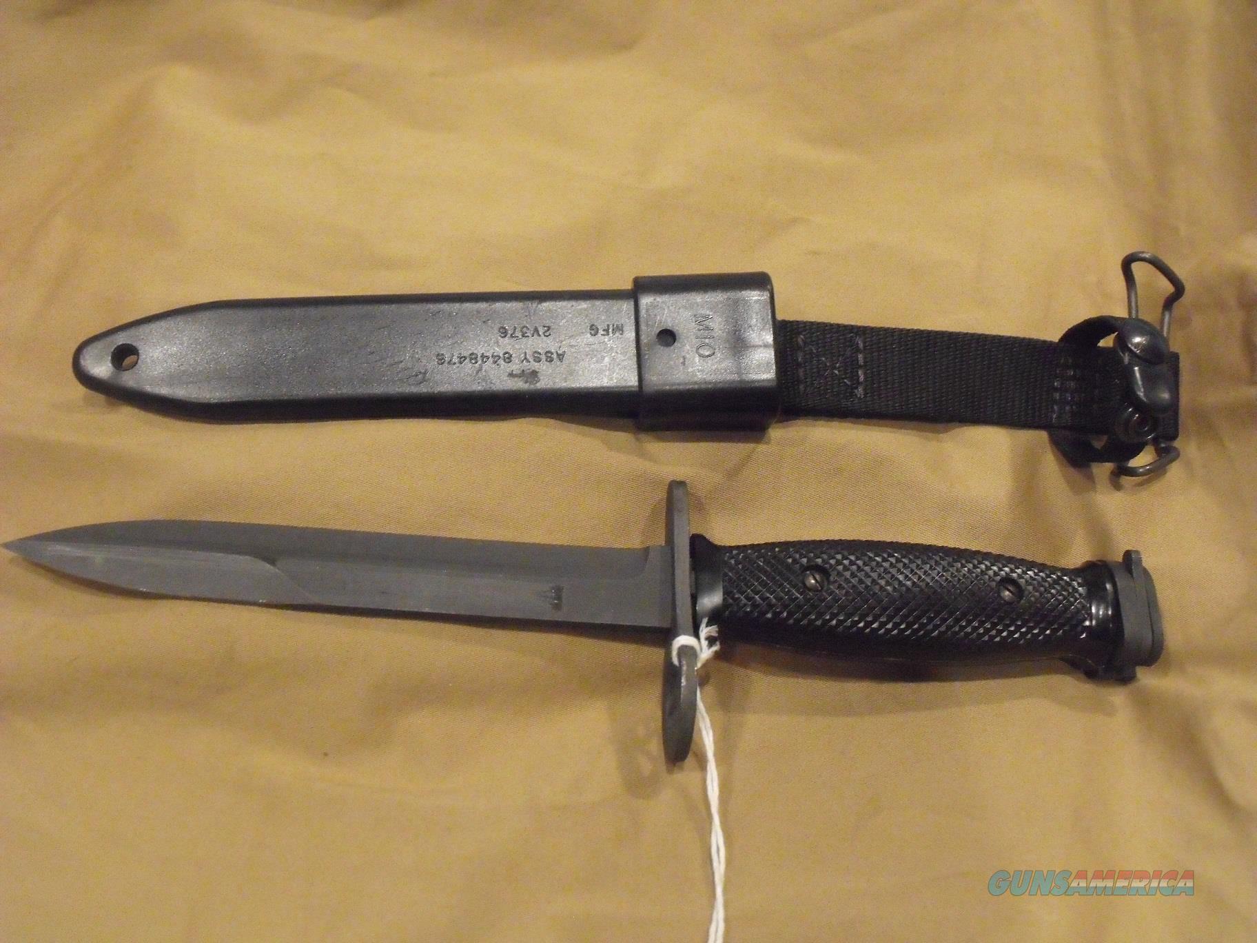 M7 Bayonet with M10 Sheath (NOS)