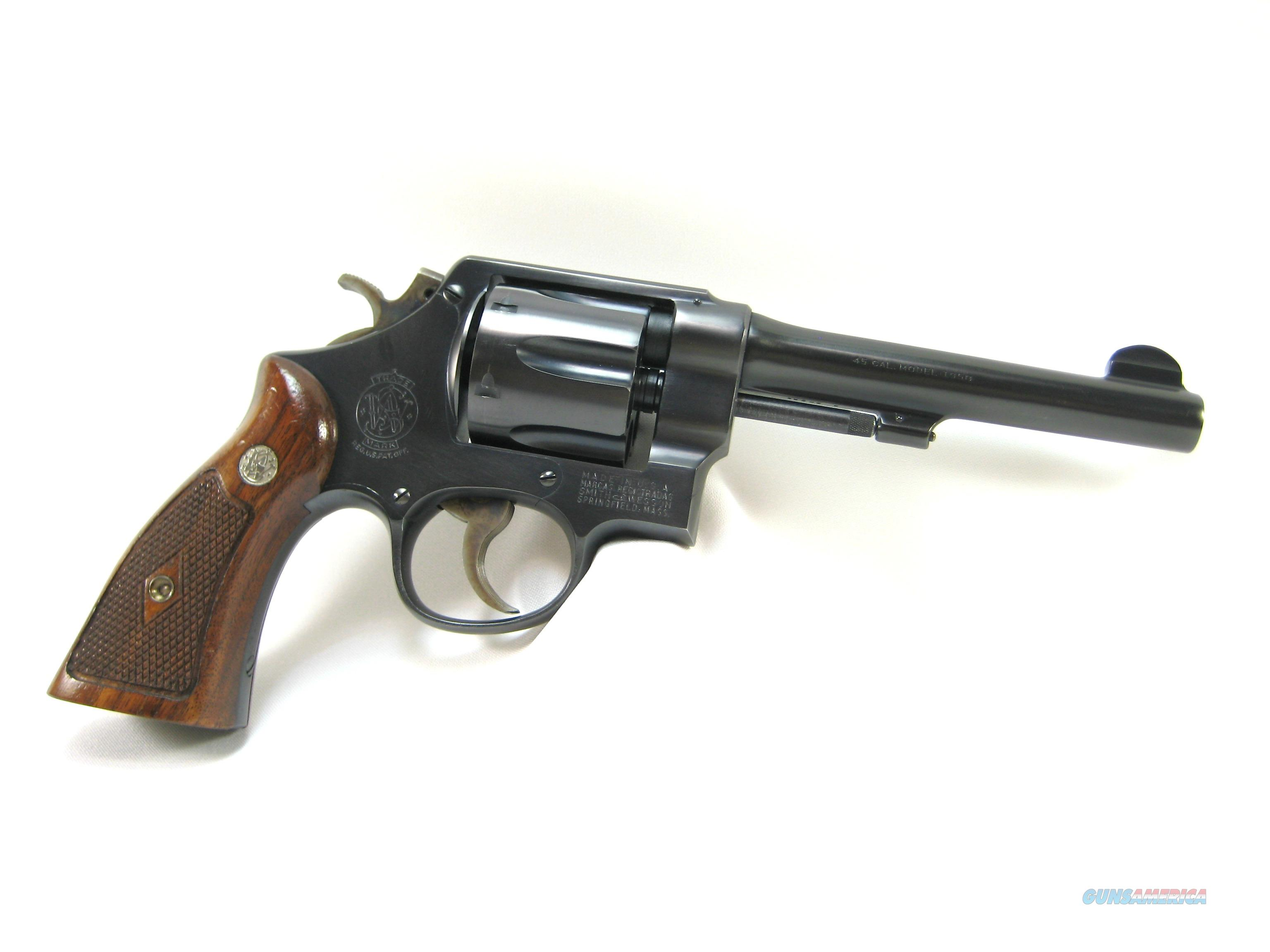 S&W .45 1950 Army Model / Pre Model 22 / High C... for sale