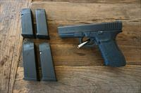 Glock 21 .45 ACP Gen 3 SF + 5 Magazines (One Extended Mag), Upgraded Recoil Spring/Bolt Catch/Mag Release, Talon Grip