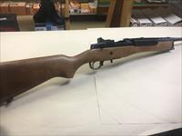 Ruger model mini-14 with wood stock 5.56 Caliber