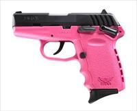 New SCCY pistol in 9mm Pink Frame