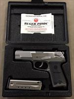 "Ruger P89 DC ""De-Cock Only"" 9mm Stainless - Excellent"