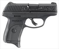 Ruger LC9S 9MM B Engraved Slide TALO