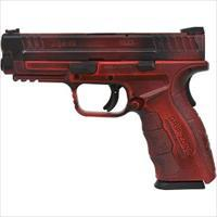 "SPRINGFIELD  XDG 9MM 4"" MOD2 BATTLEWORN RED BLACK"