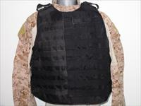 IBA Body Armor Black With Soft Armor Inserts