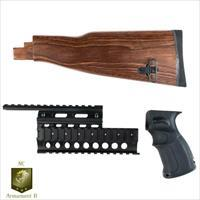 AK47 Stock, Grip, and Quadrail Set (For Stamped Receivers)