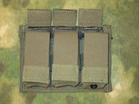 Diamondback Tactical Ranger Green Triple Pistol Magazine Pouch w Magnets!
