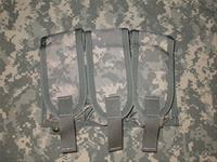 Diamondback Tactical ACU Triple M4/M16 Mag Pouch MOLLE / PALS