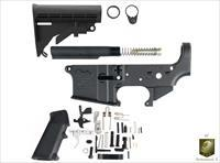 AR15 Complete Lower Kit With Stock