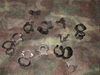 Scope Rings Lot KWIK See Through Rings & Others