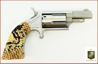 NAA Mini Revolver 22mag Snake Boot Grip