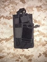 Diamondback Tactical Open Top Tiered M4 Mag Pouch Molle/Pals Black