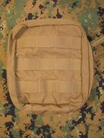 Diamondback Tactical Medical Pouch - Molle / Pals - Coyote Tan