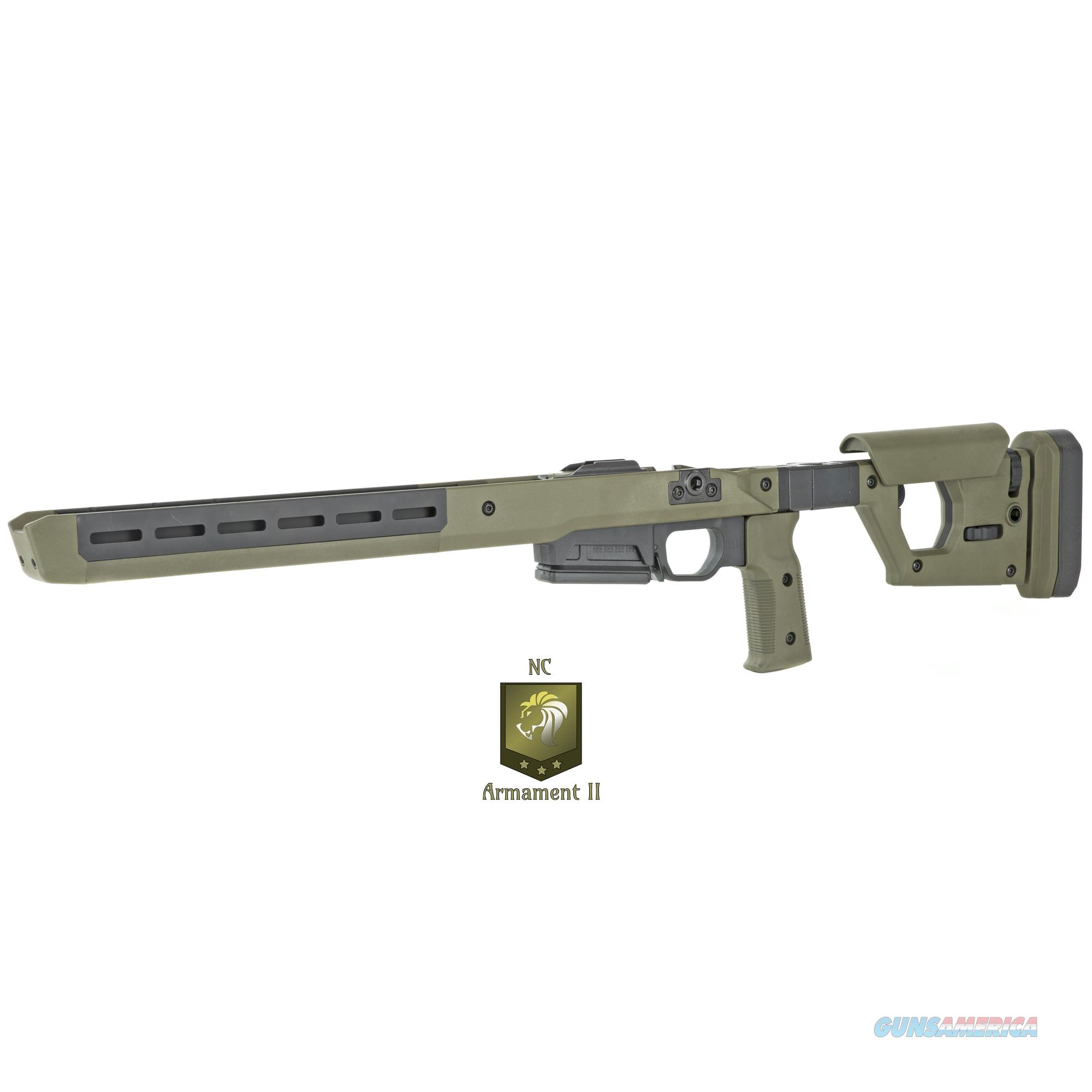 Magpul Pro 700 Chassis Fits Remington 700 Short Action OD Green