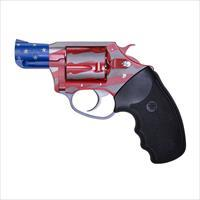 Charter Arms Old Glory Revolver 38 Special Red, White, and Blue Finish