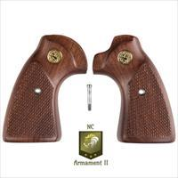 Colt Detective Special Walnut Grips- Post 1971 Factory Style