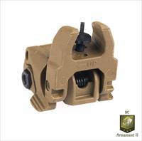 Brown AR-15 Magpul Flip-Up Front Sight (MBUS)