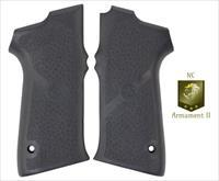 S&W 5900 Series Black Rubber Grip Panels