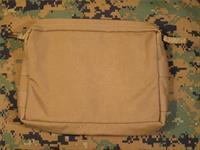Diamondback Tactical Low Profile Utility Pouch Coyote Tan Molle/Pal