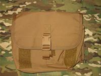 Diamondback Tactical Coyote Tan Gas Mask Pouch Molle / Pals New!