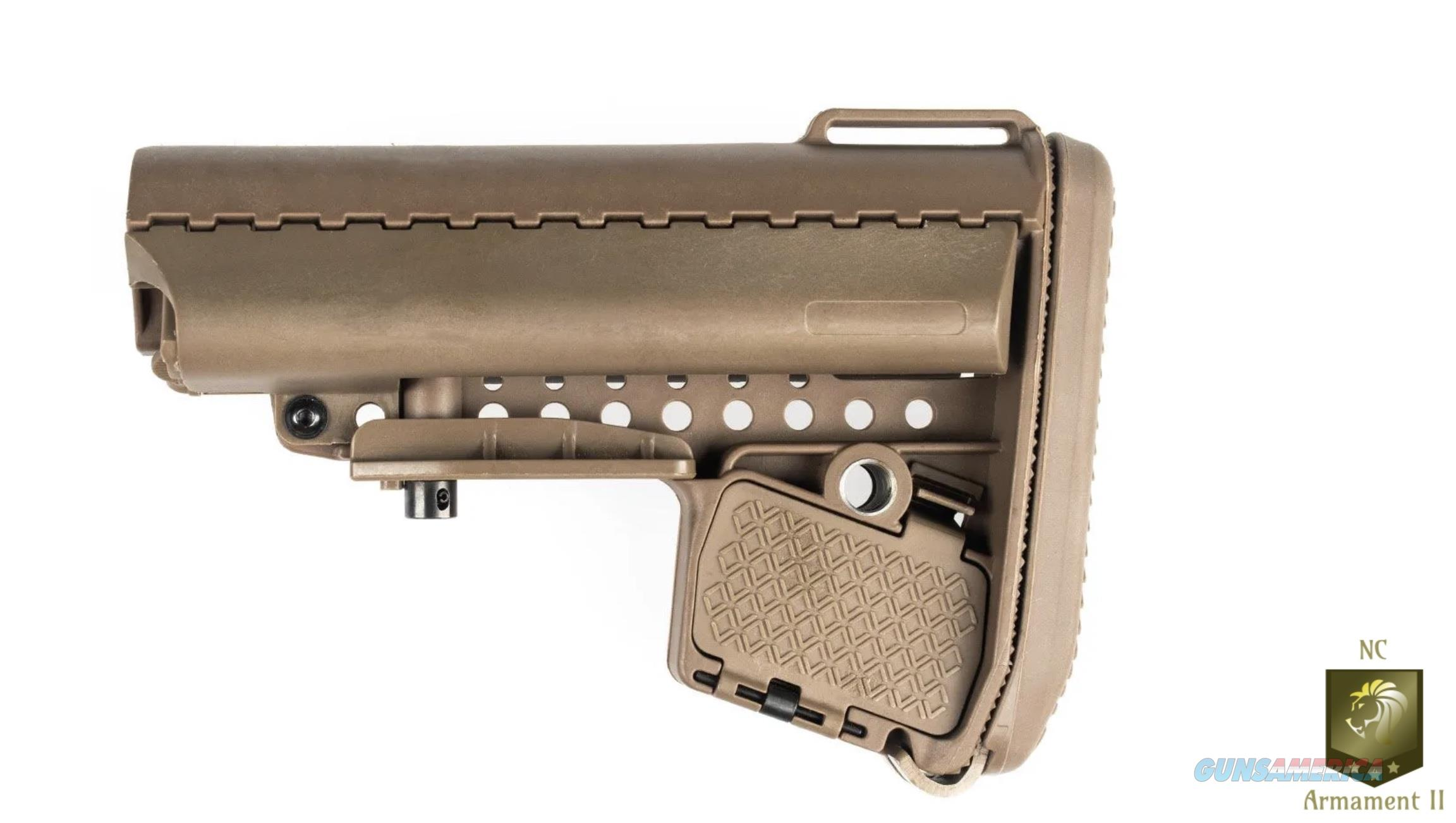 AR-15 Collapsible Stock Tan Mil-Spec