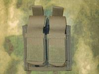 Diamondback Tacticsl Dual Pistol Magazine Pouch w/ Magnets Ranger Green