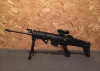 New FN SCAR 16S in black,new factory magazine, added bipod, Magpul AFG.