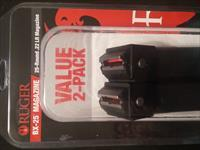 Ruger BX-25 Magazine 25rds .22LR for Ruger 10/22 - 2 Pack Brand New!