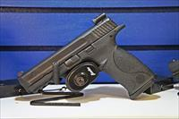 Smith & Wesson M&P9 full size with integrated laser rear sight