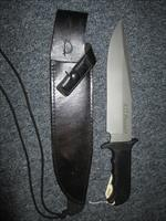 Rare 1990 A G RUSSEL MK-2 Combat Bowie Knife