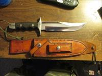 Gunther Anger custom bowie knife handmade