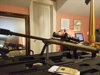 Barrett .50 cal model 99 rifle with a new Leupold Mark 6 Scope and case included fired 22 times