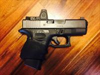 Custom GLOCK 26 Gen 3 with Trijicon RMR 07 Red Dot Tactical including Custom Kydex IWB/AiWB Sheath!