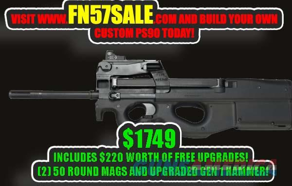 Fn Ps90 W Factory Red Dot Gen 1 Hammer Upgra For Sale