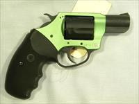 "Charter Arms 'Under-Cover Lite', .38 Special, Green ""Shamrock"""