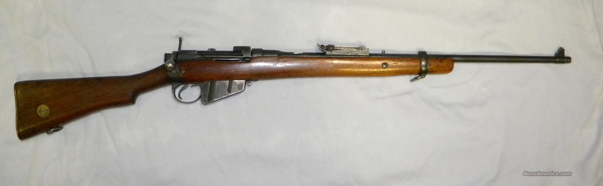 Lee-Enfield S M L E  MkI,  303 Brit Bolt-Action Rifle