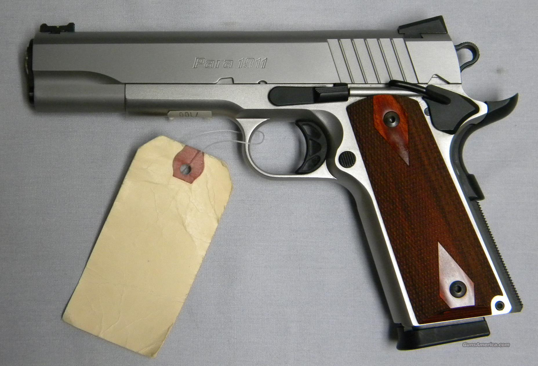 Para Ordnance 1911 Elite 45 Acp Stainless For Sale