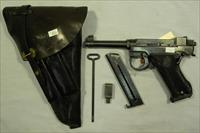 1946 Husqvarna M40, 9mm Semi-Auto Pistol With Holster And Mags
