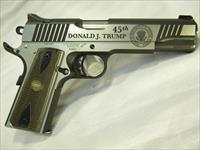 "1911 ""Trump Commemorative"", ""Trump 45"", .45 ACP 1911-A1 Semi-Auto Pistol, One Of Only 2,500 Made By Thompson/Auto Ordnance"